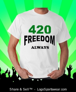 420 FREEDOM ALWAYS Design Zoom